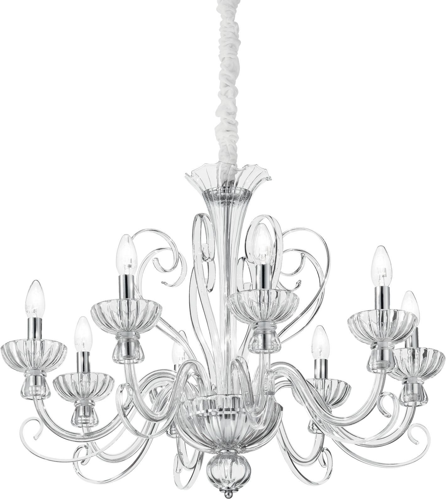 Ideal lux LED Alexander haengende Lampe 8x5W 90269