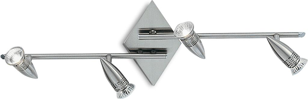 Ideal lux LED Alfa Nickel Spotlicht 4x5W 6321