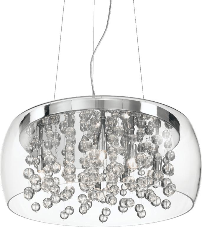 Ideal lux LED Audi 80 haengende Lampe 8x4,5W 31750