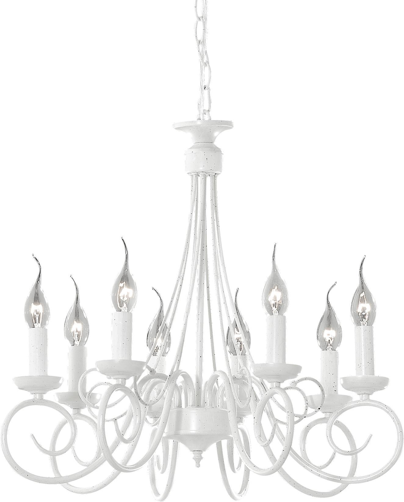 Ideal lux LED Brandy Kronleuchter 8x5W 66639