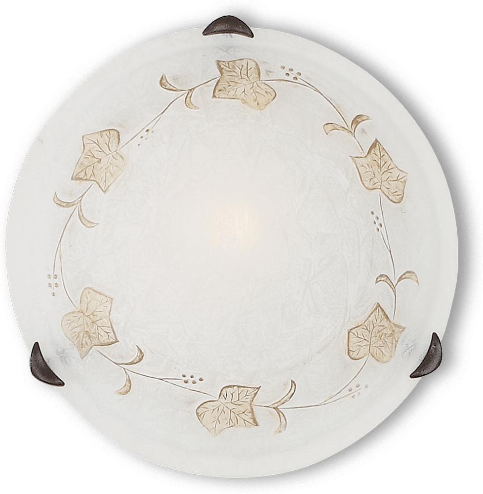 Ideal lux LED Foglia pl1 d30 Wand Lampe 5W 13794