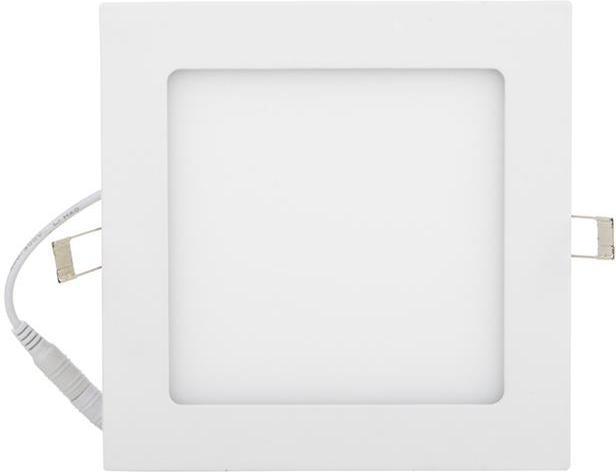 Weisser eingebauter LED Panel 175 x 175mm 12W Tageslicht