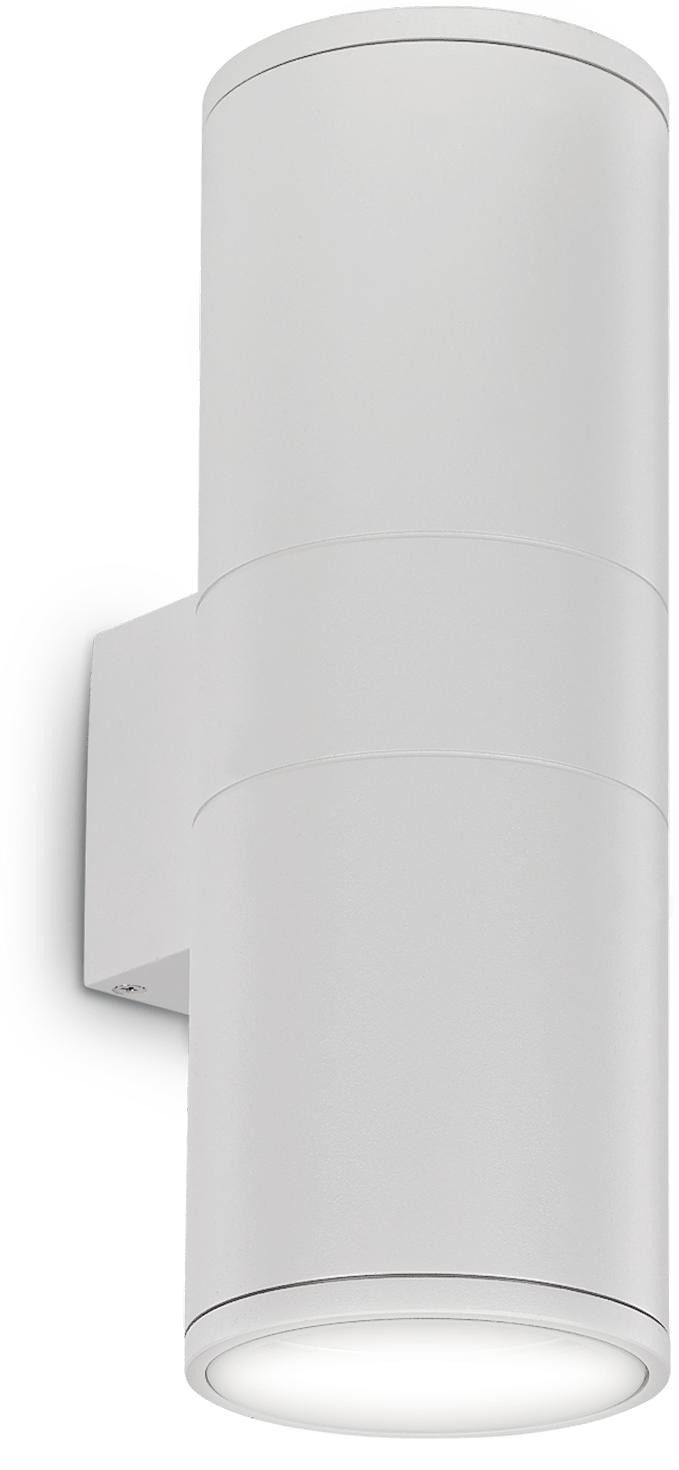 Ideal lux LED Gun big bianco Wand Lampe 2x5W 92300