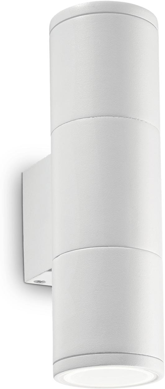 Ideal lux LED Gun small bianco Wand Lampe 2x5W 100388