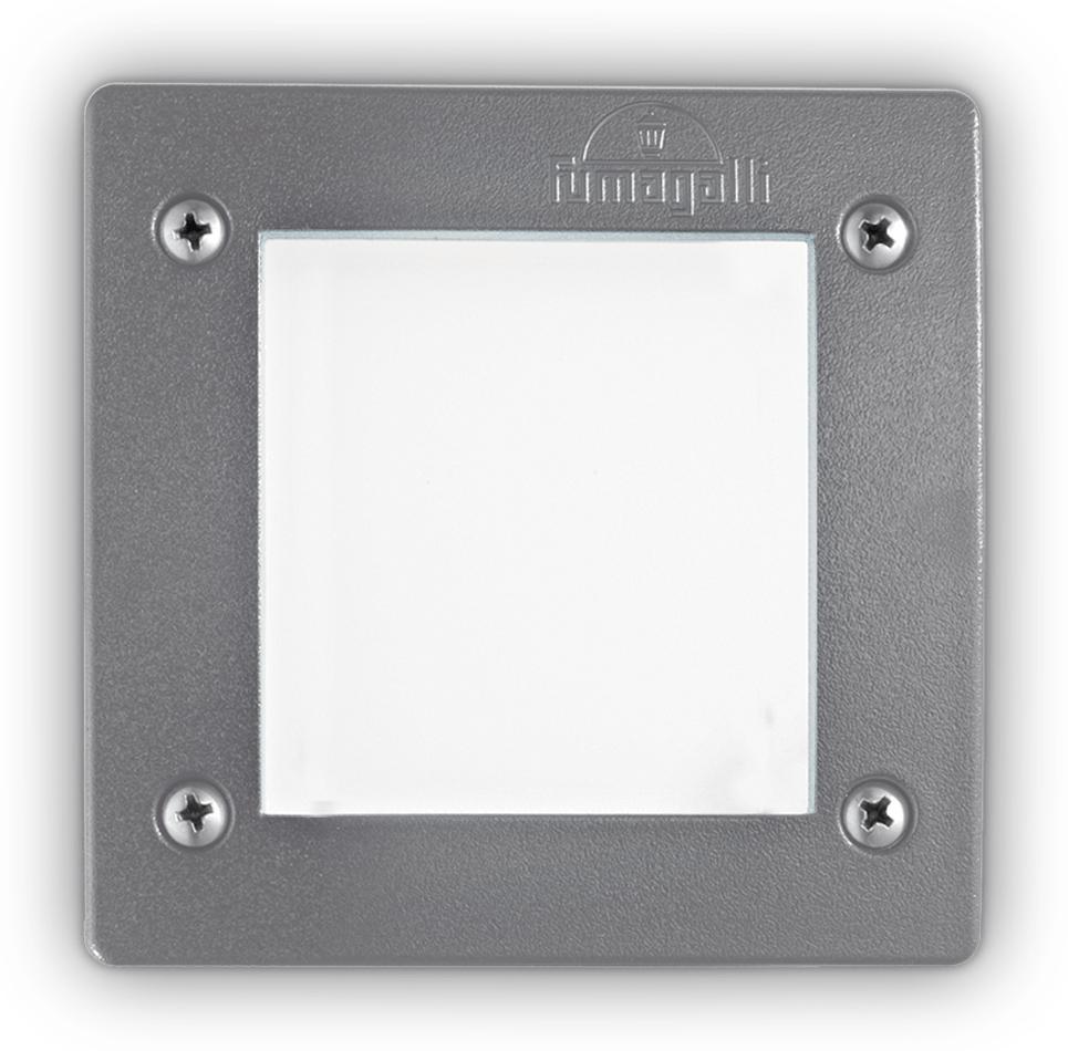 Ideal lux LED Leti square grigio max 3W gx53/96599