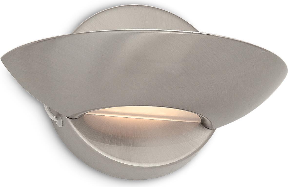 Ideal lux LED Lumina Nickel Wand Lampe 6W 2491
