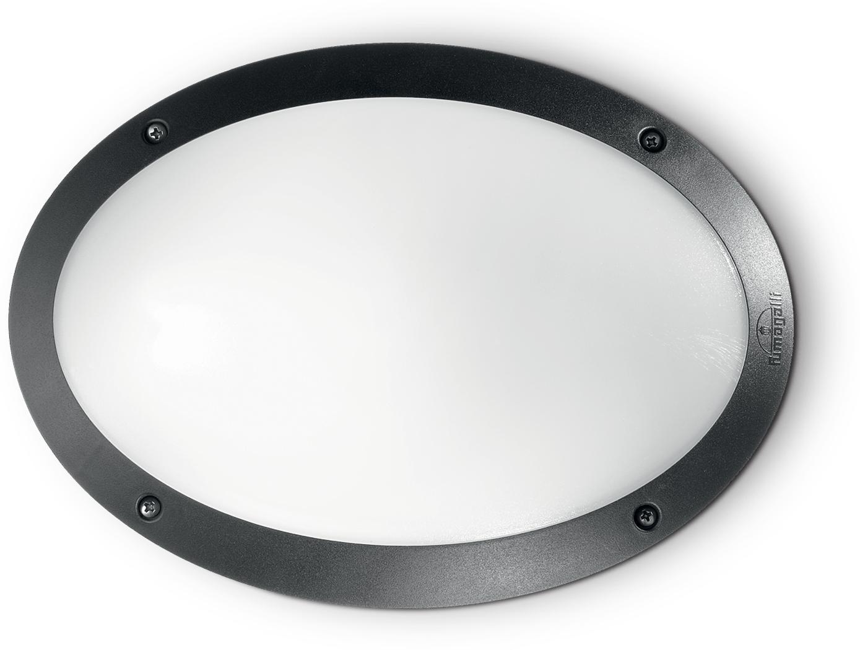 Ideal lux LED Maddi nero Wand Lampe 5W 96704