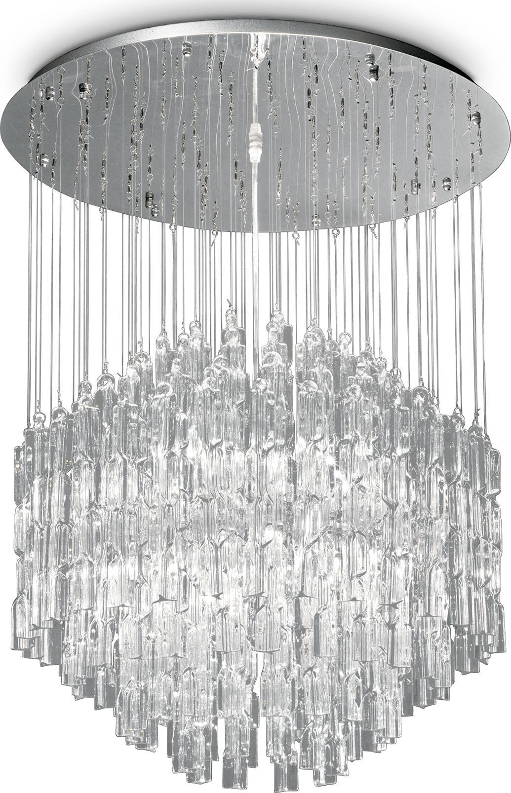 Ideal lux LED Majestic trasparente haengende Lampe 10x4,5W 87269