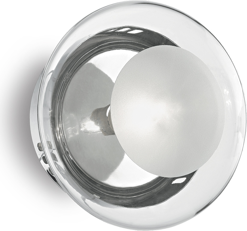 Ideal lux LED Smarties clear Wand Lampe 4,5W 35567