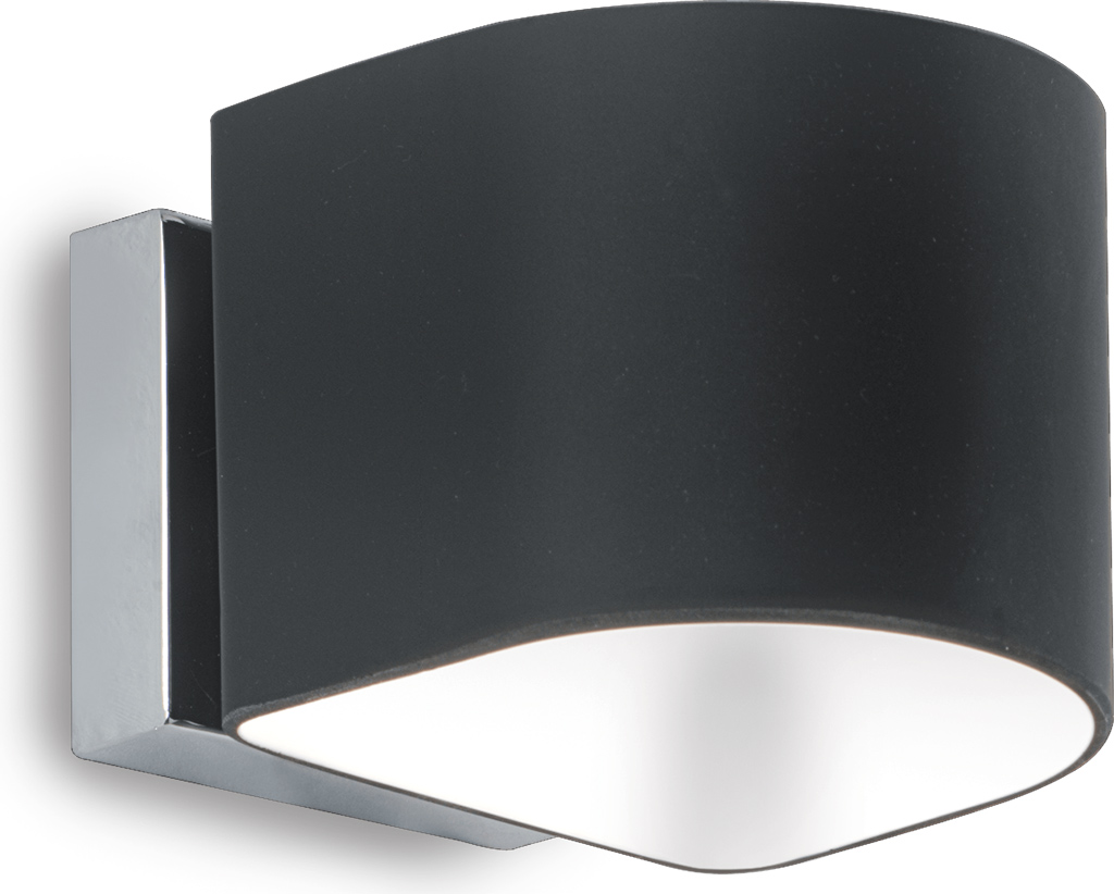 Ideal lux LED Puzzle nero Wand Lampe 4,5W 35192