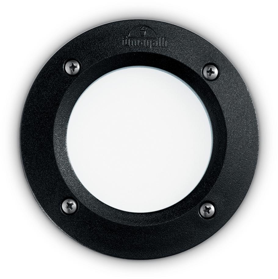 Ideal lux LED Leti round nero max 3W gx53/96551