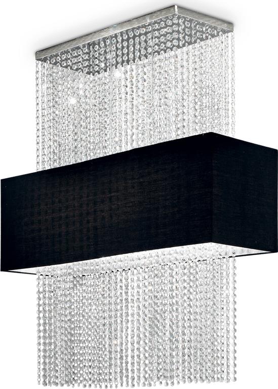 Ideal lux LED Phoenix nero decken Lampe 5x5W 101163
