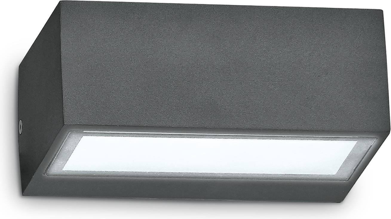 Ideal lux LED Twin anthrazite decken Lampe 4,5W 115368