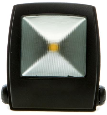 Schwarzer LED Strahler star 30W