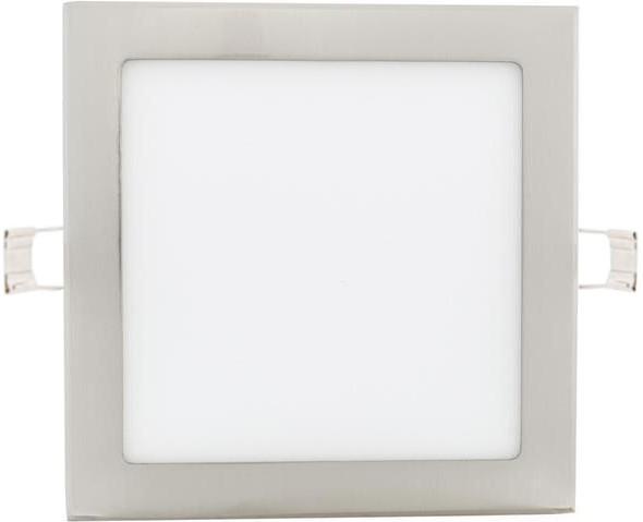 Chrom eingebauter LED Panel 225 x 225mm 18W Warmweiß