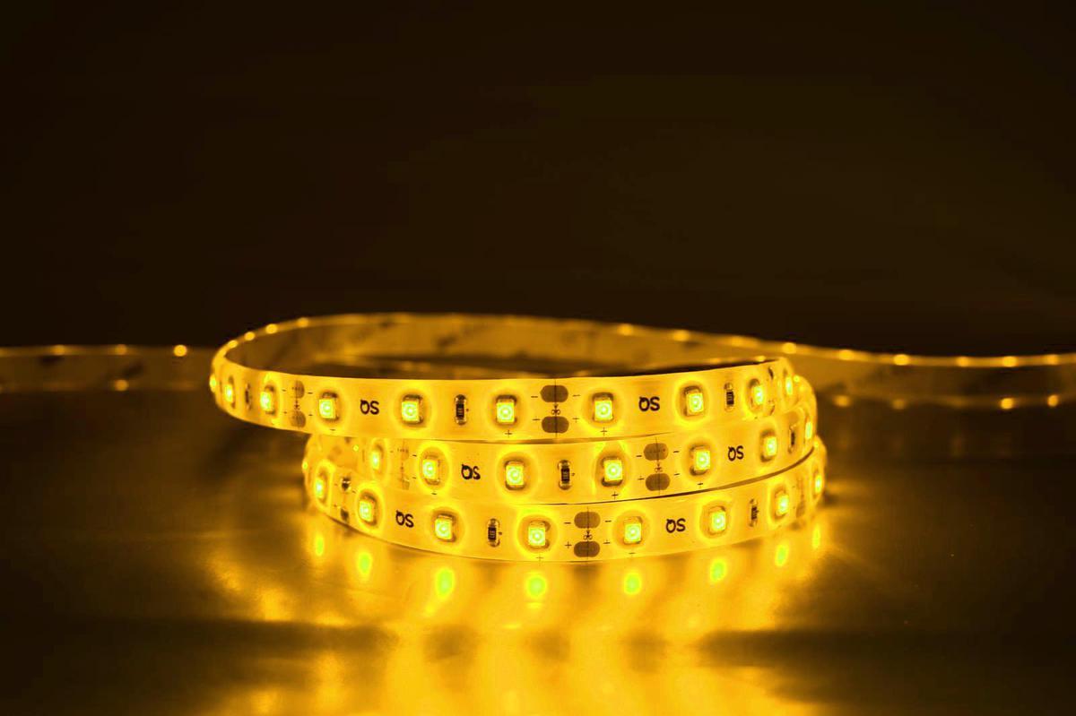 LED-Streifen eingebettet 9,6W/m gelb 12V
