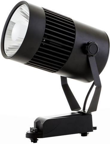 Schwarzer Phasen Schiene LED Strahler 30W Tageslicht