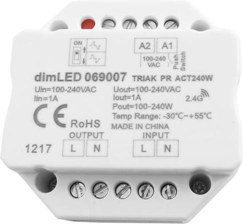 LED triac dimmer max.240W