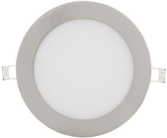 Dimmbarer chrom runder eingebauter LED Panel 175mm 12W Warmweiß