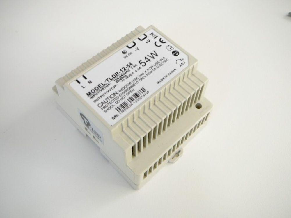 LED trafo 12V 54W DIN Hutschiene