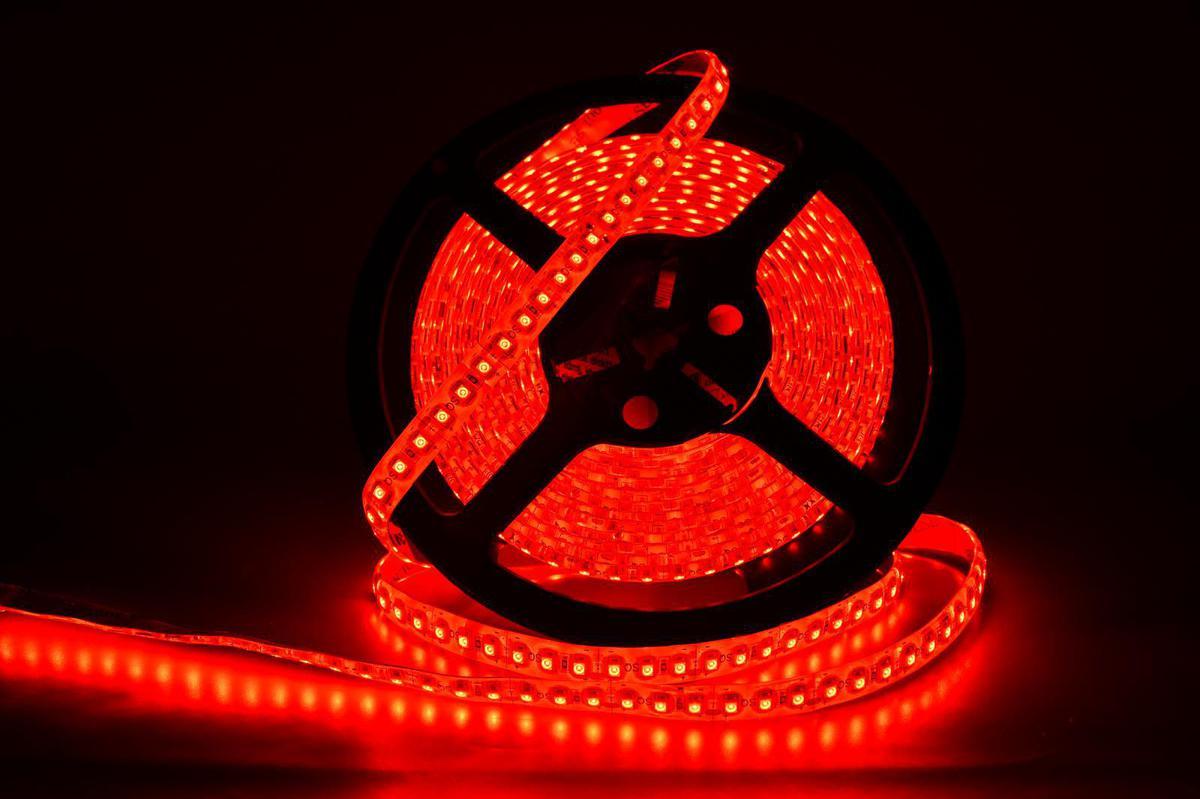 LED Streifen Wasserdichte 4,8W/m rot