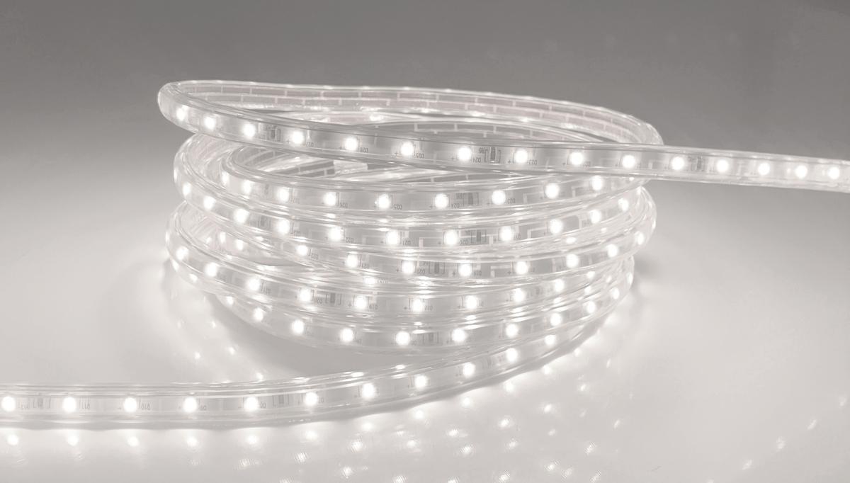 LED Streifen 230V3 230V Kaltweiß