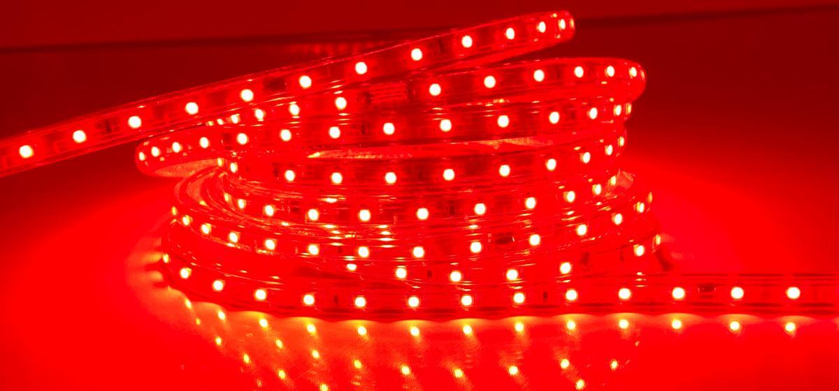 LED Streifen 230V3 230V rot