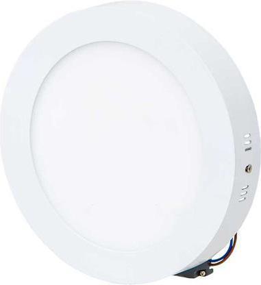 Weisser angebauter LED Panel 175mm 12W Tageslicht