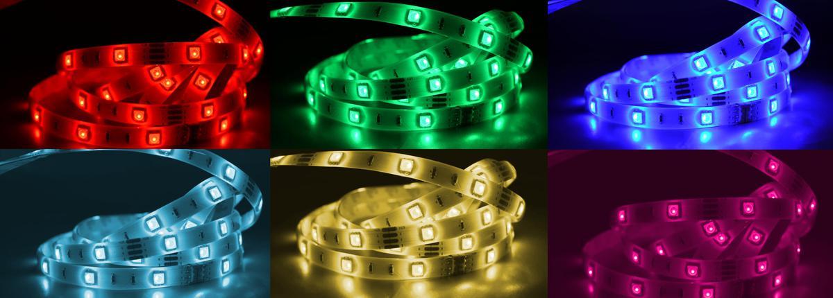 RGB LED Streifen W150SMD Wasserdichte