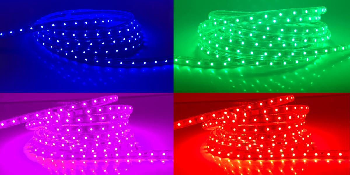 LED Streifen 230V5 RGB 230V