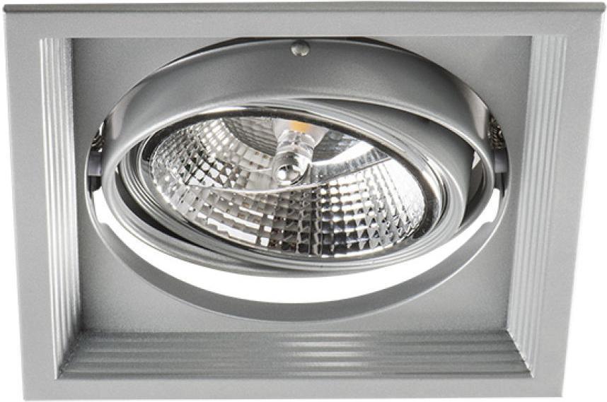 Decken Lampe AR111 ArtO 1L-SR silbernes