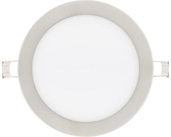 Dimmbarer chrom runder eingebauter LED Panel 225mm 18W Tageslicht