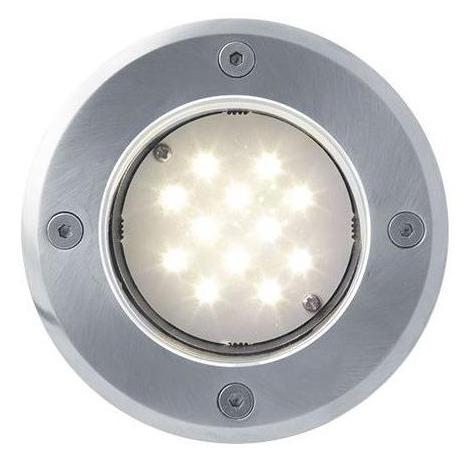 Boden einbaustrahler LED Lampe 1W Warmweiß 48mm