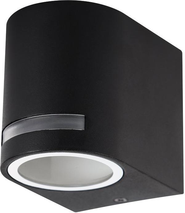 Schwarzes außen kleines Abgerundet Wand Beleuchtung 10W Tageslicht