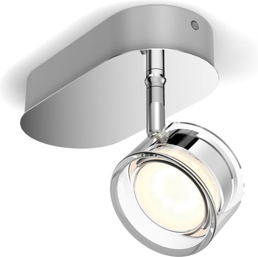 Philips LED Spotlicht 4,5W chrom Worchester Warmweiß 50561/11/P0
