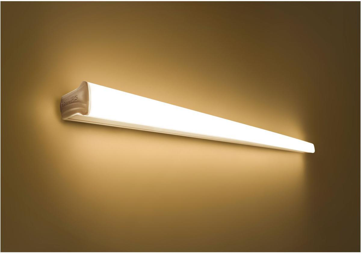 Philips LED Leuchtstoffröhre 120cm 18W Shelline Warmweiß 31237/31/P1