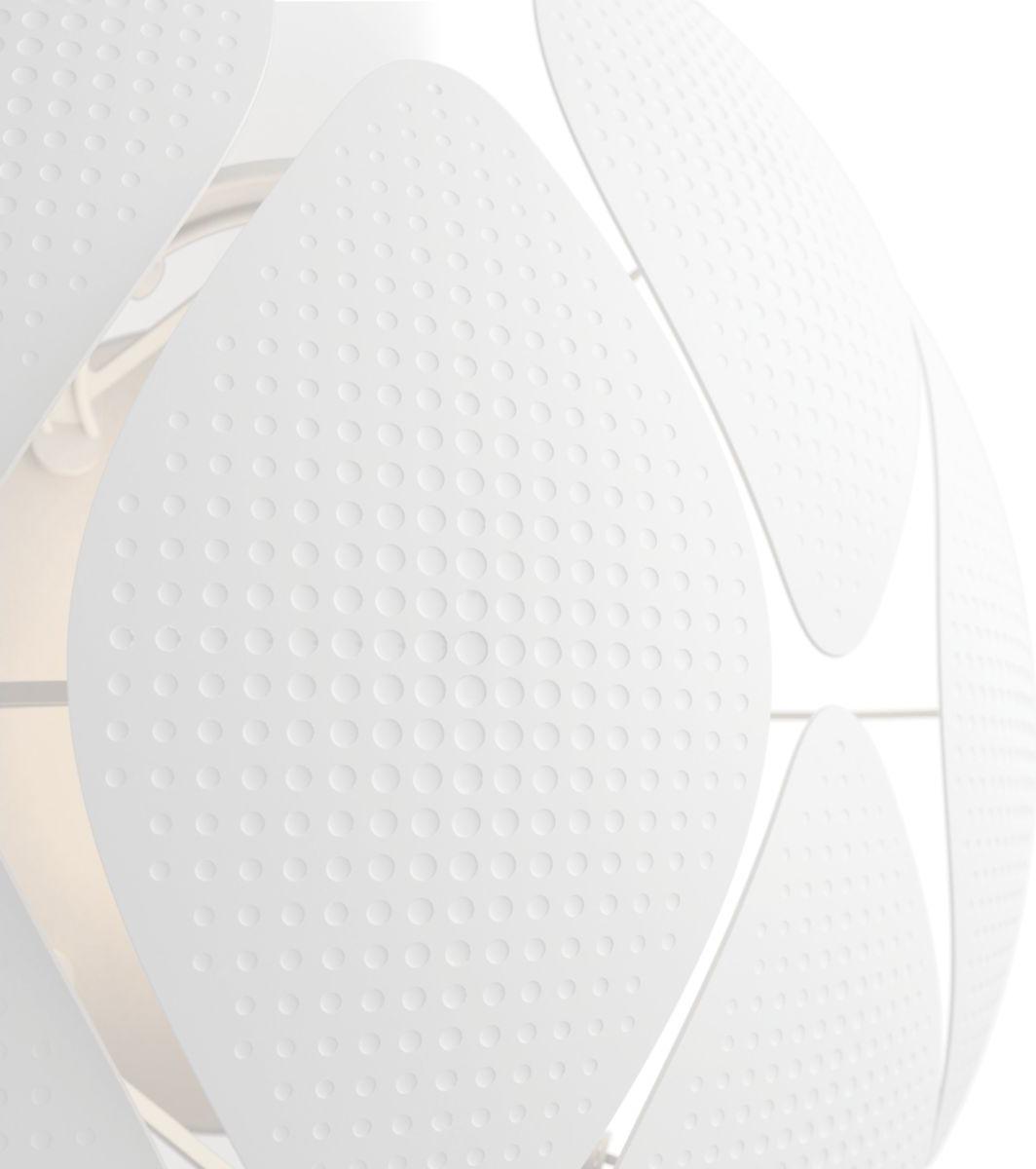 Philips LED Wandleuchte E27 10W Chiffon Tageslicht 40963/31/PN