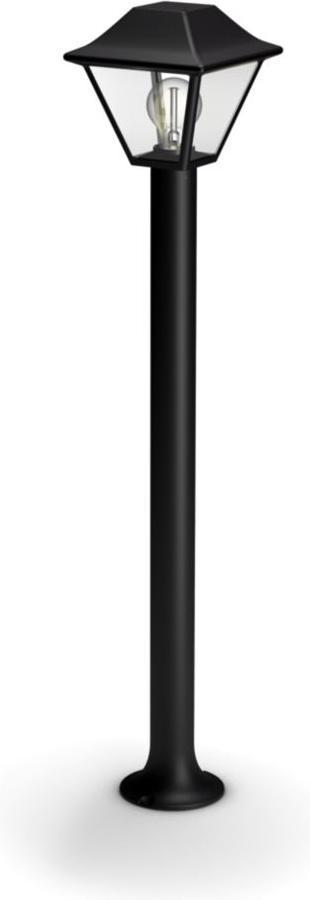 Philips LED Pfeiler Außenleuchte E27 5W AlpenLicht Tageslicht 16497/30/PN