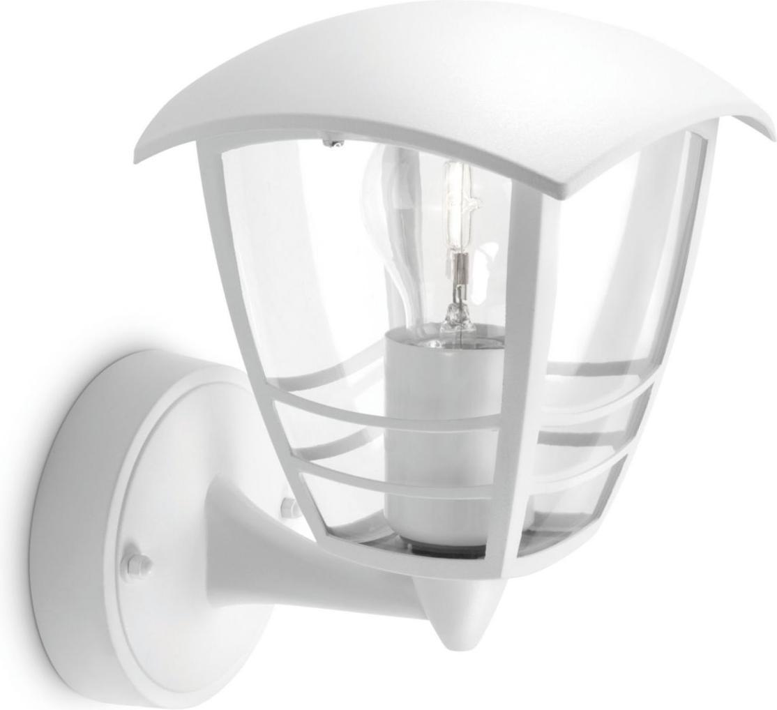 Philips LED Außenleuchte E27 15W Creek Tageslicht 15380/31/16