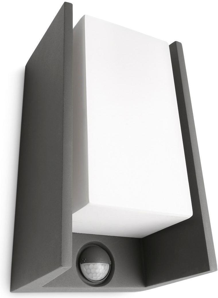 Philips LED Außenleuchte IR E27 5W Bridge Warmweiß 16352/93/16