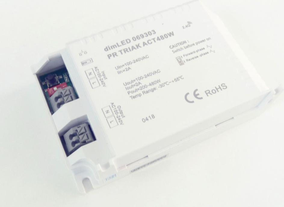 DimLED Dimmer Triak PR ACT480W