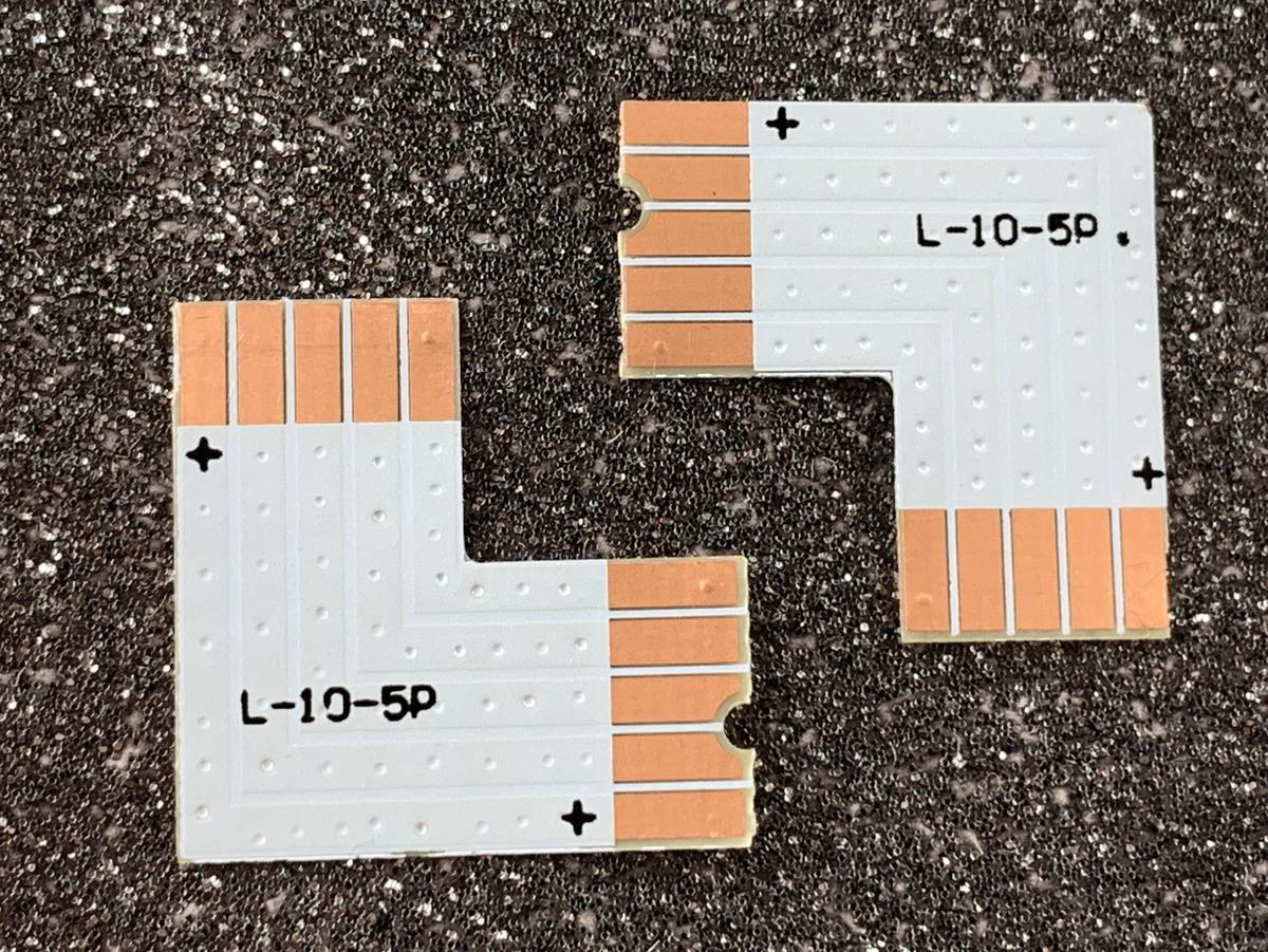 RGBW PCB verbindungsstück L