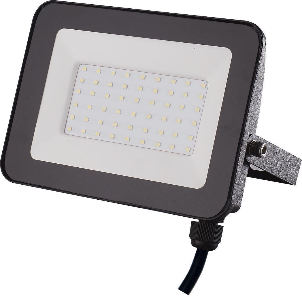 Schwarzer LED Strahler 50W SMD Kaltweiß