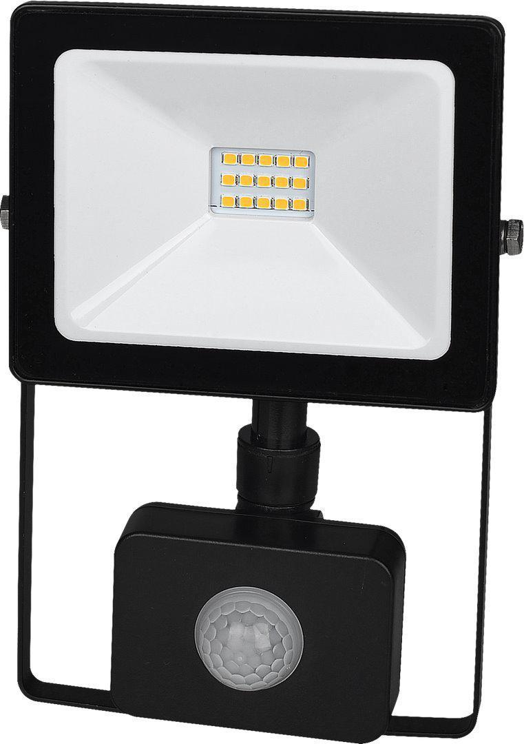 Schwarzer LED Straight 10W SMD mit Sensor Kaltweiß