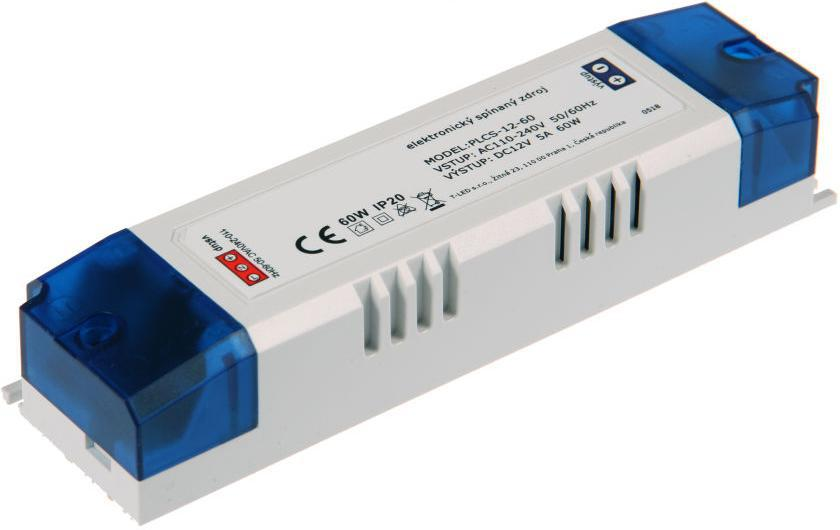 LED Trafo SPS 12V 60W innen