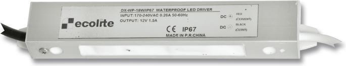 Trafo LED Streifen 12V 1,5A 18W