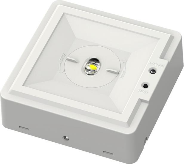 LED Notbeleuchtung Birne 2,8W Kaltweiß Schmalstreuung
