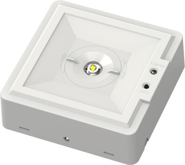 LED Notbeleuchtung Birne 2,8W Kaltweiß Rundstreuung