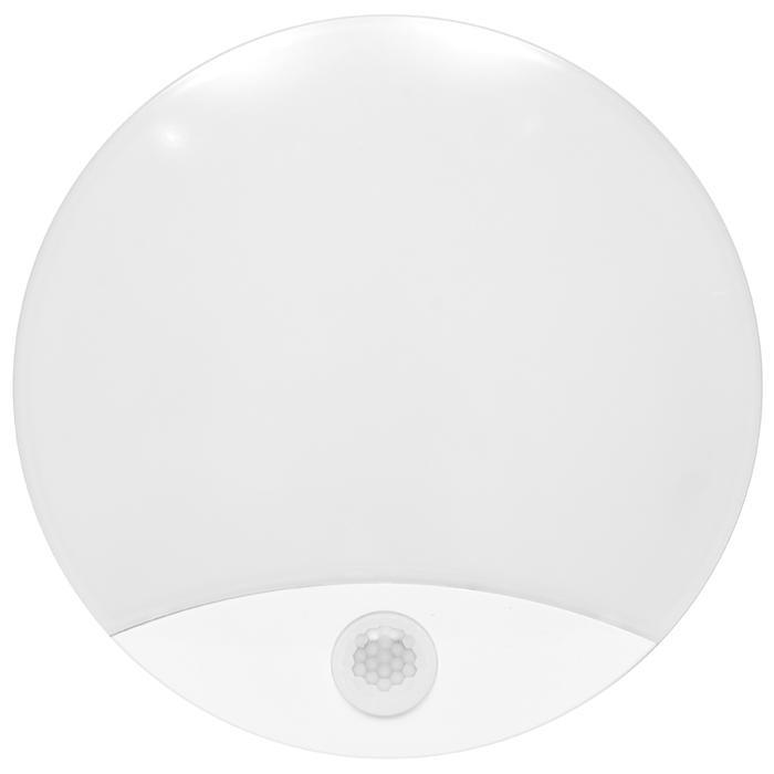 Weisses LED außen Wand Lampe 15W mit Sensor DITA Tageslicht