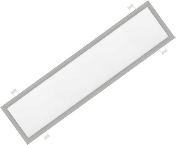 Silbern eingebauter LED Panel 300 x 1200mm 48W Kaltweiß